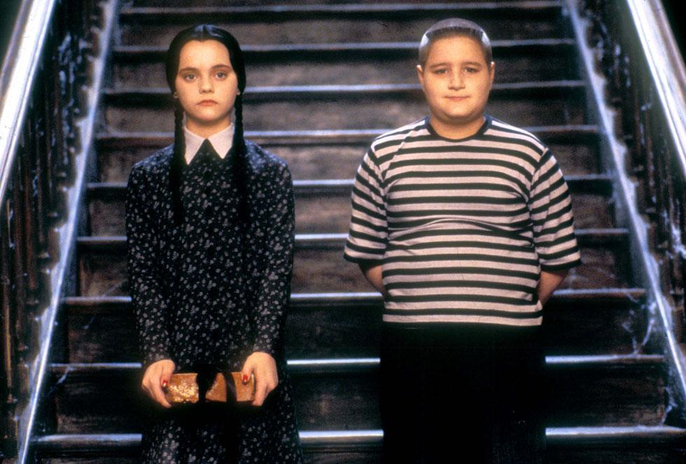 """מעולם לא היתה בה את המתיקות המלאכית שאנחנו מחפשים אצל ילדי הקולנוע שלנו. ריצ'י ב""""משפחת אדמס""""  (צילום: rex/asap creative)"""