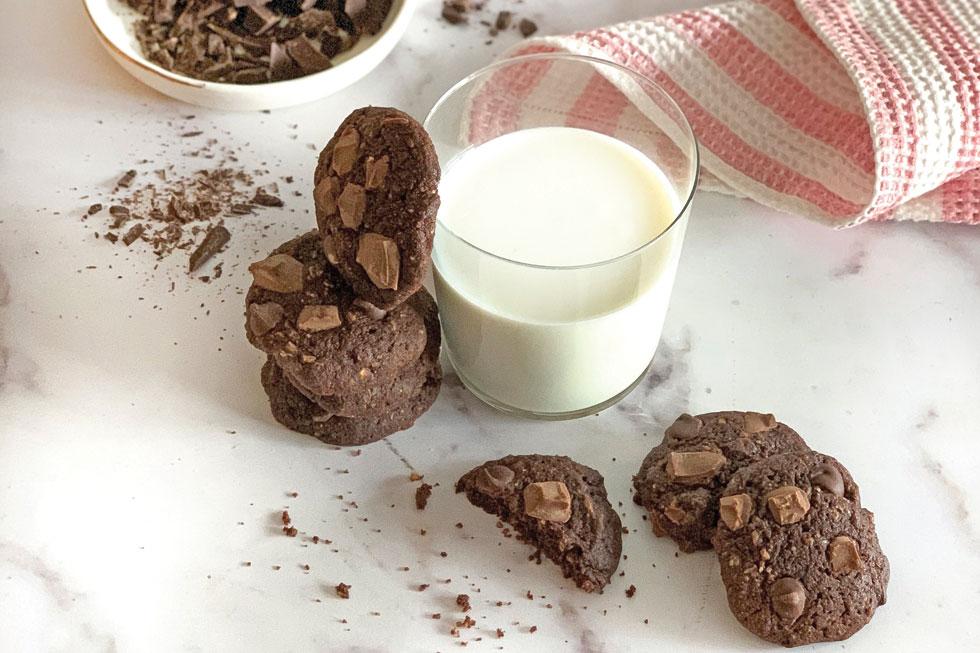 עוגיות שוקולד  (צילום וסגנון: נטשה חיימוביץ')