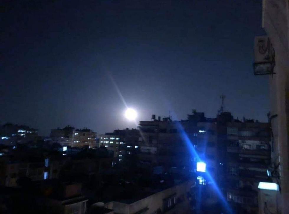 תקיפה סוריה דמשק טילים ()