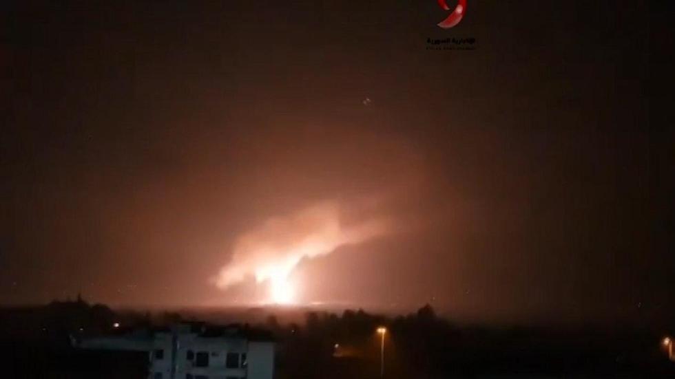 יירוט טיל טילים תקיפה סוריה דמשק אמל