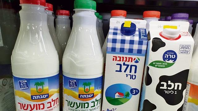 חלב תנובה חלב מועשר (צילום: מירב קריסטל)