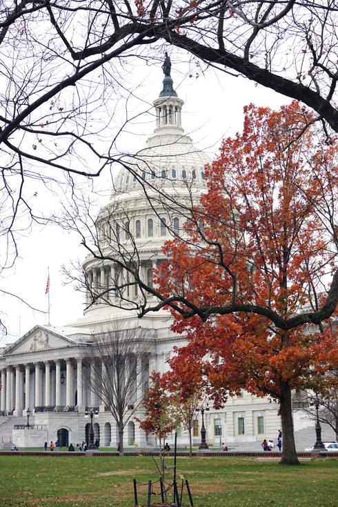 הקפיטול, בנין הקונגרס  (צילום: צביקה בורג)