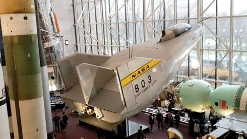 מוזיאון הסמית'סוניאן לתעופה וחלל  (צילום: צביקה בורג)