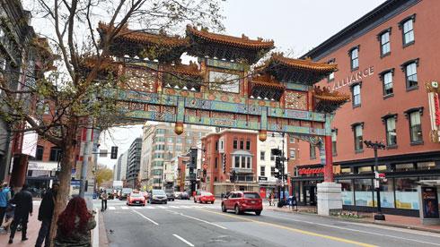 הרובע הסיני. אזור בילוי פופולרי בעיר  (צילום: צביקה בורג)