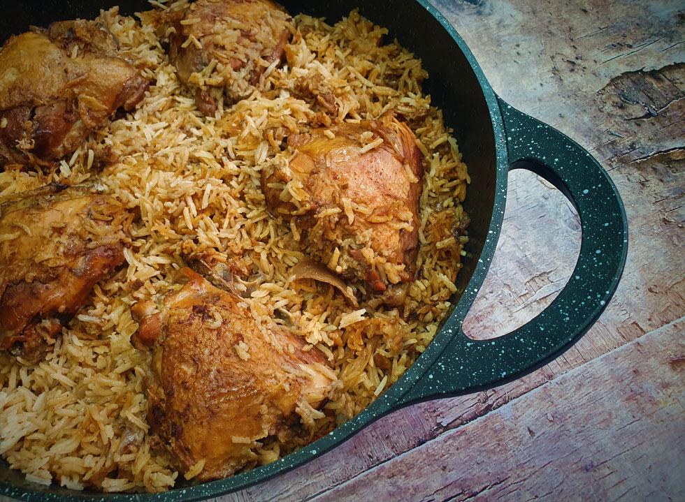 טבית - חמין עוף ואורז עיראקי (צילום: שפרה נחום)