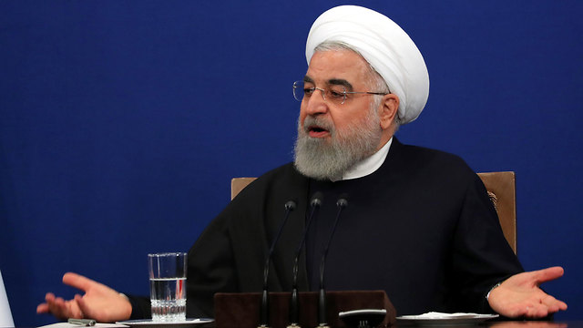 נשיא איראן חסן רוחאני (צילום: EPA)