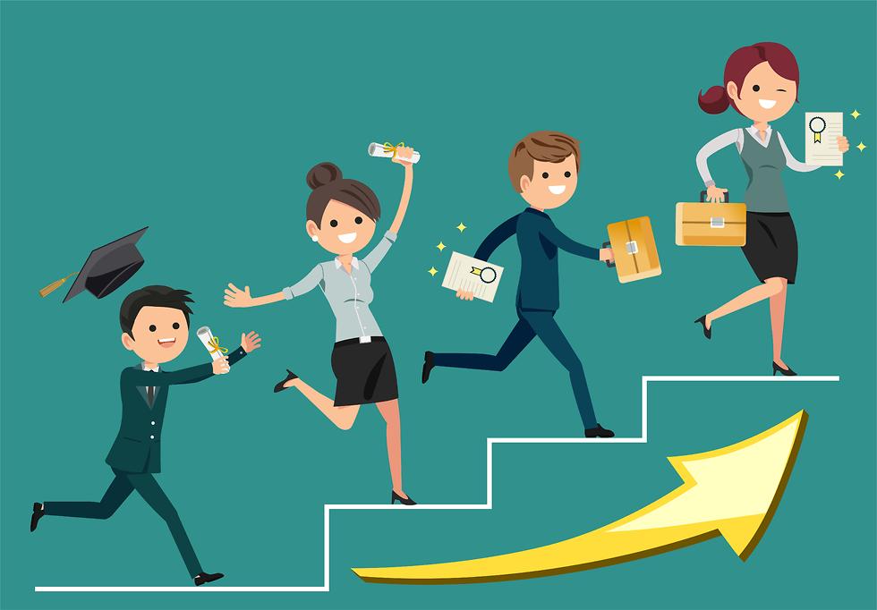עבודה ואקדמיה (איור: Shutterstock)