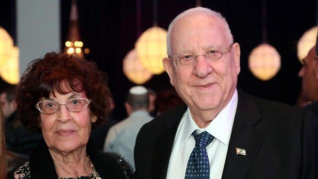 ראובן רבלין ונדיה כהן (צילום: סיון פרג׳)