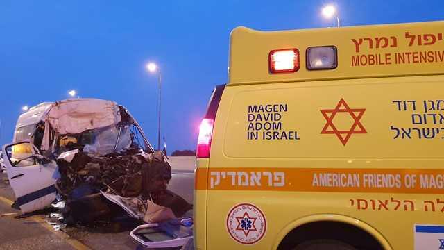 Место аварии. Фото: МАДА