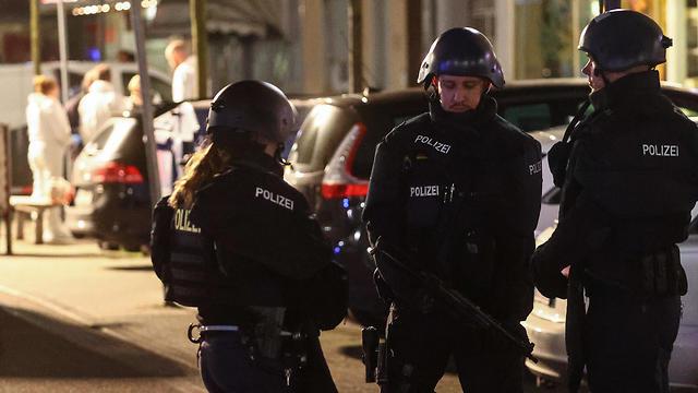 אירוע ירי בעיר הנאו שבמזרח גרמניה (צילום: רויטרס)