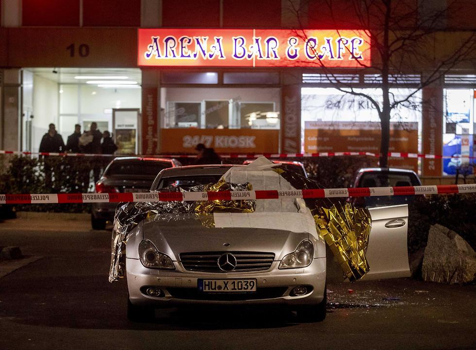 אירוע ירי בעיר הנאו שבמזרח גרמניה (צילום: AP)