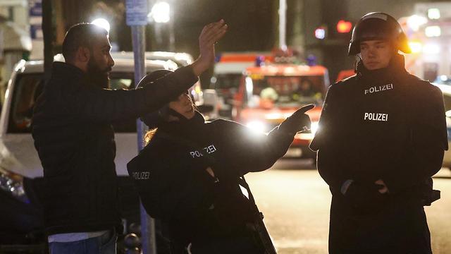 אירוע ירי בעיר הנאו שליד פרנקפורט (צילום: רויטרס)