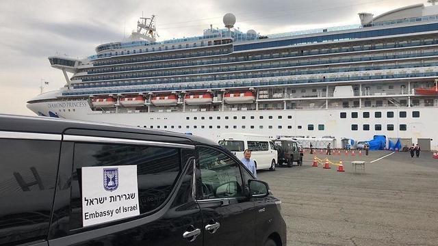 נערכים לקראת פינוי הישראלים מספינת