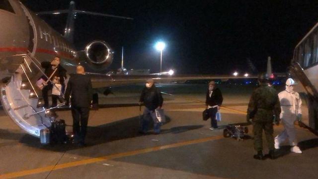 מטוס הקורונה הישראלי ביפן ()