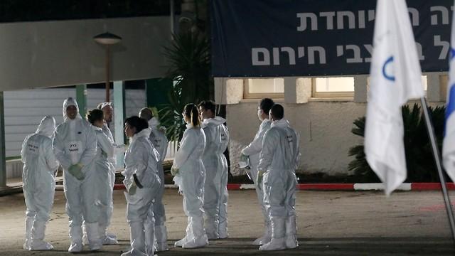 הישראלים מספינת הקורונה בישראל (צילום: אבי מועלם)
