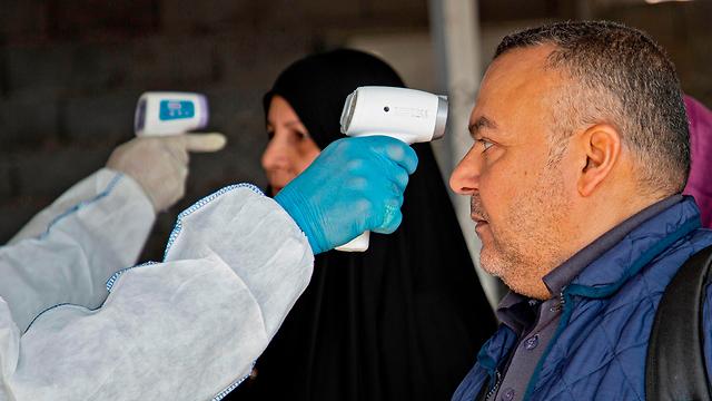 Проверка в Ираке для вернувшихся из Ирана. Фото: AFP