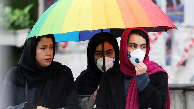 На улице в Тегеране. Фото: AFP