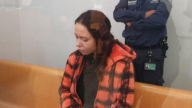 הגשת כתב אישום דינה זלוטניק מכרמיאל בגין רצח שושנה מנשירוב בכרמיאל (צילום: אחיה ראב