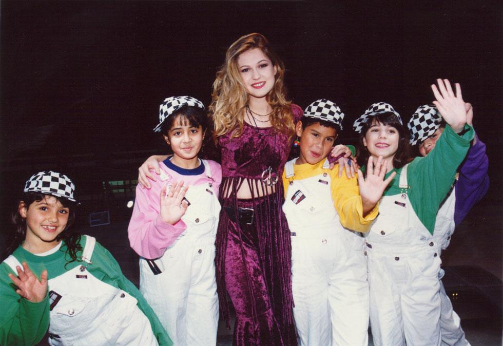 """""""אני בוגרת בית צבי, אבל זוכרים אותי בעיקר ככוכבת ילדים"""". ינאי בפסטיגל, 1993 (צילום: צביקה טישלר)"""