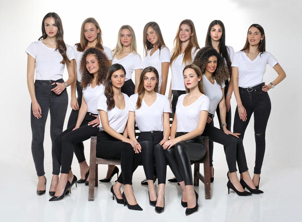 כולן יפות וכולן חכמות, אבל מי תהיה הזוכה? נבחרת תחרות מלכת היופי 2020  (צילום: טל שחר)