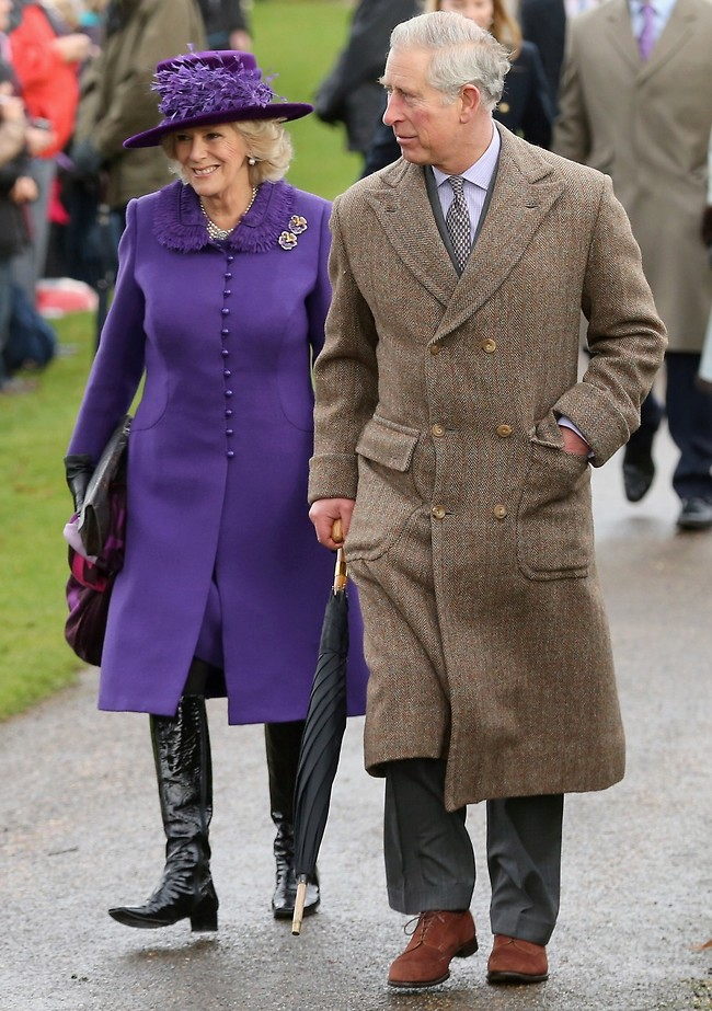 זמן איכות יחד. הנסיך צ'ארלס וקמילה (צילום: Gettyimages)