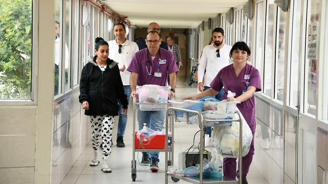 פגייה  (צילום: דוברות בית חולים ברזילי)