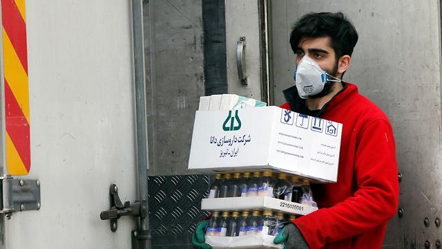 טהרן איראן חשש מ נגיף וירוס קורונה (צילום: EPA)