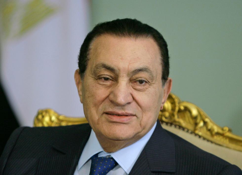 נשיא מצרים לשעבר חוסני מובארק 2008 (צילום: AP)