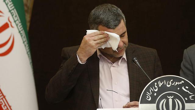 איראן סגן שר הבריאות ש נדבק ב נגיף וירוס קורונה (צילום: AFP)