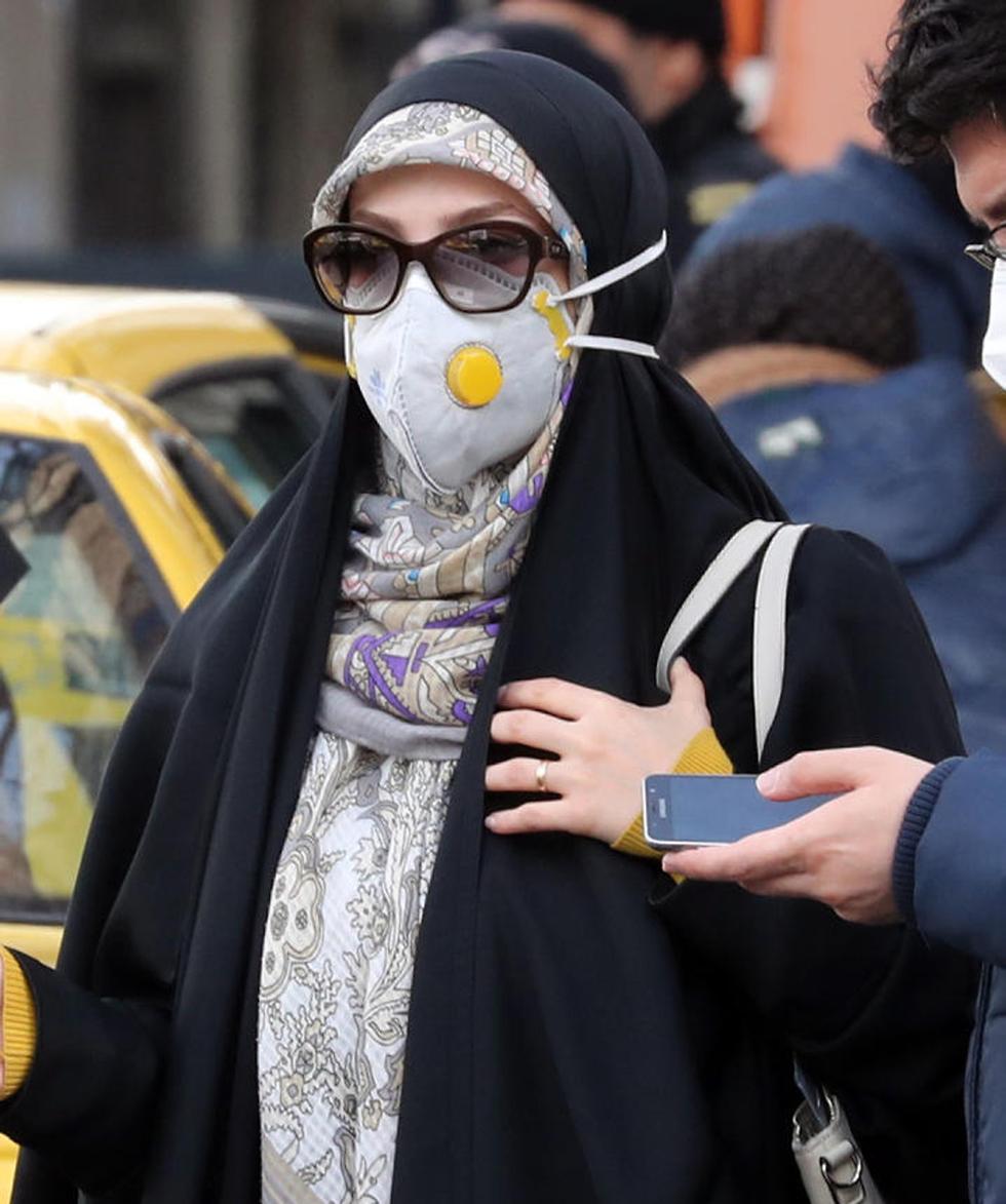 טהרן איראן וירוס נגיף קורונה (צילום: EPA)