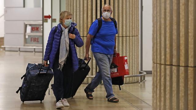 Прибытие пассажиров в Бен-Гурион. Фото: AFP