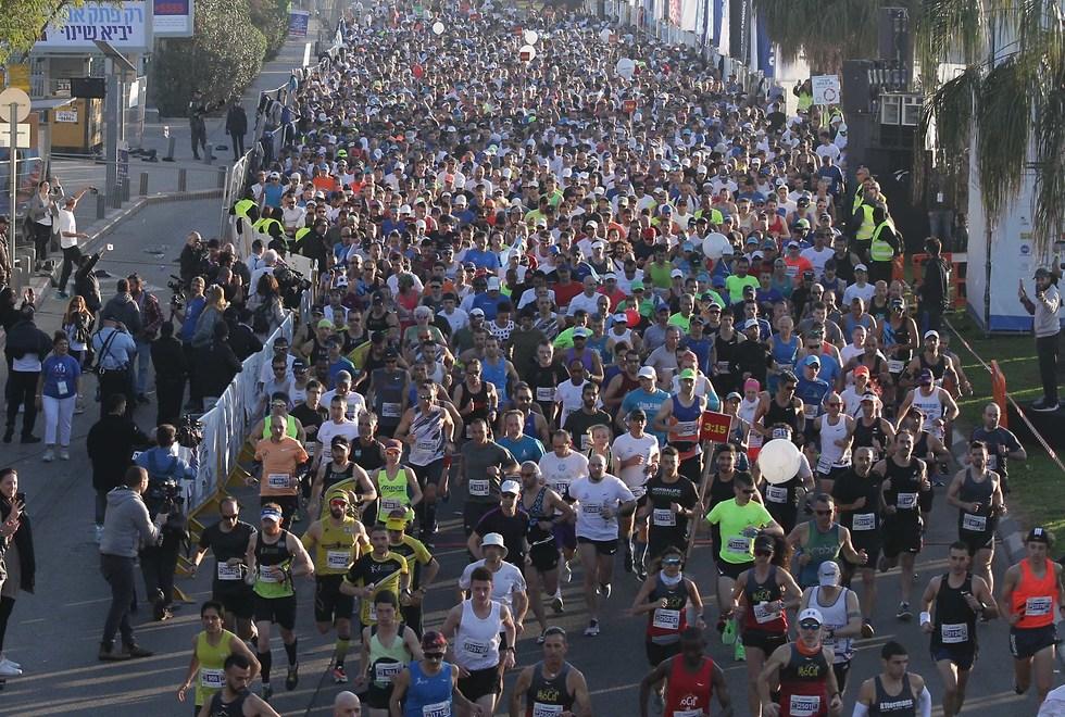 מרתון תל אביב (צילום: ראובן שוורץ)