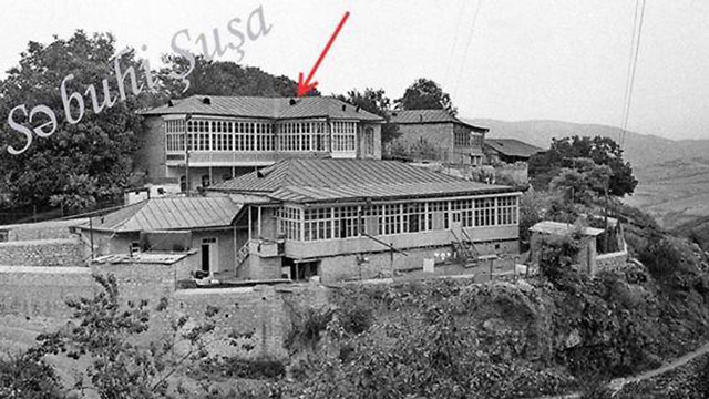 בית ארמניה אזרבייג'אן נגורנו קרבאך כיבוש ()