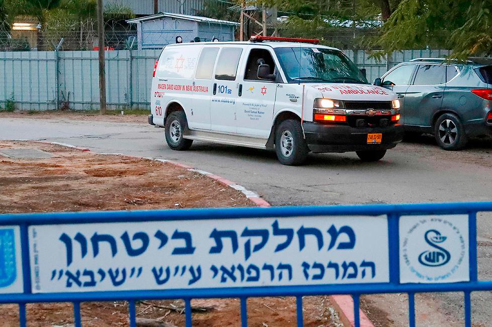 Место изоляции больных коронавирусом. Фото: AFP (צילום: AFP)