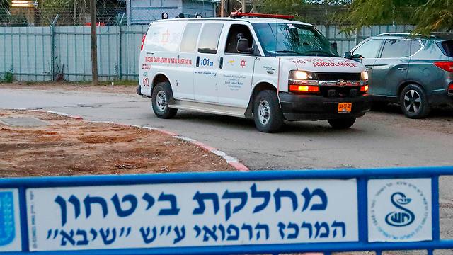 """Отделение коронавируса в больнице """"Шиба"""" в Тель ха-Шомере. Фото: AFP"""