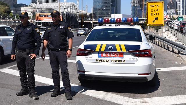 היערכות המשטרה לבחירות (צילום: דוברות המשטרה )
