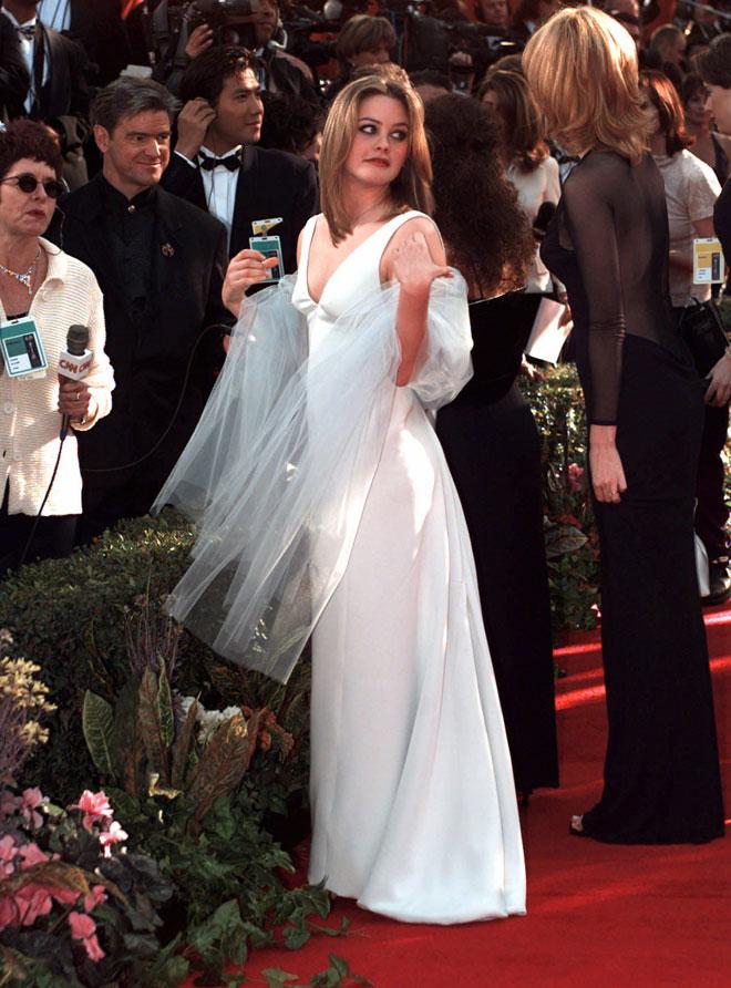 לרגע בשנות ה-90, היא היתה כוכבת ענקית. 1996 (צילום: AP)