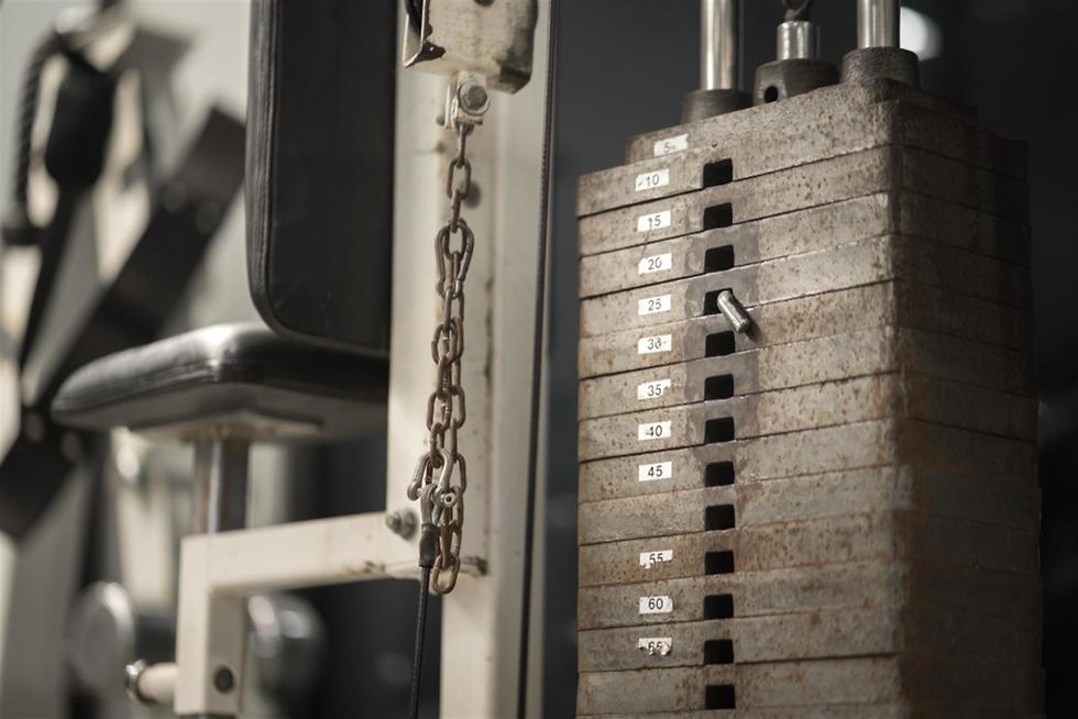 מכשיר כושר עם דרגות משקל ()