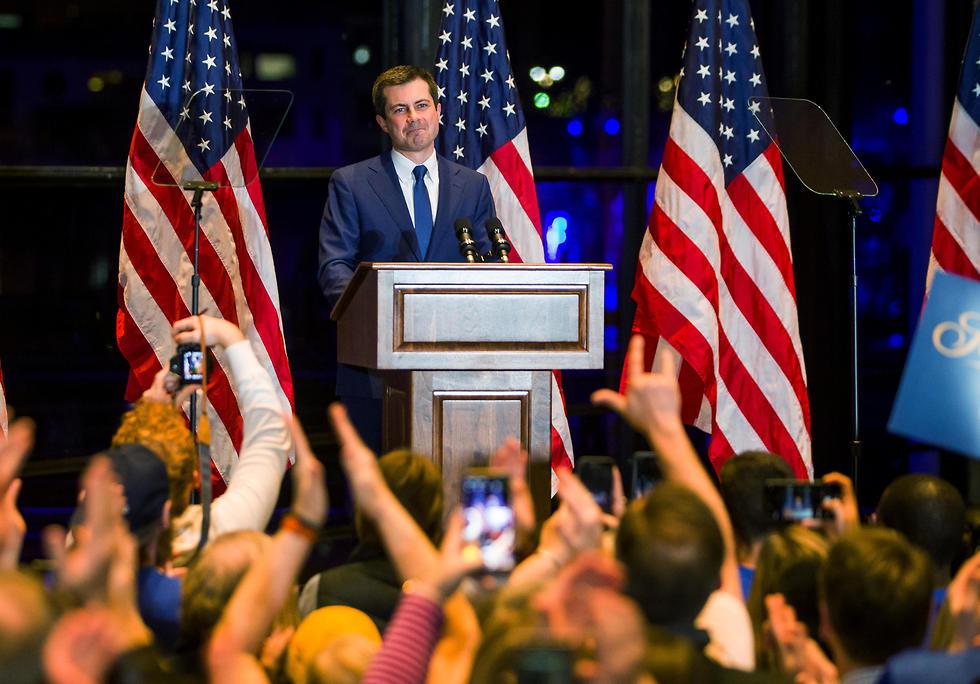 פיט בוטיג'ג' סאות' בנד אינדיאנה פורש מהמרוץ פריימריז דמוקרטים (צילום: רויטרס)