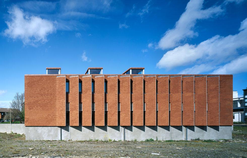 המכון העירוני של אירלנד, דבלין. מבנה שתוכנן באמצעים צנועים ובלוח זמנים הדוק (Photo courtesy of Ros Kavanagh)