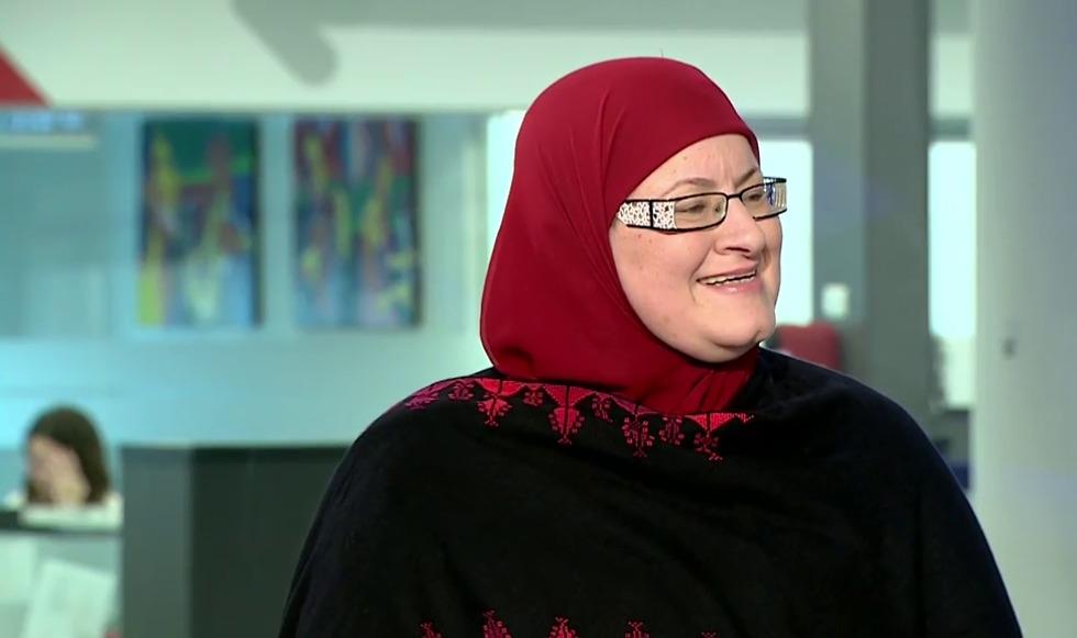 גאדיר האני - משתתפת בקמפיין - תרשום אני ערבי ()