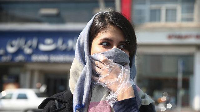 איראן קורונה טהרן (צילום: רויטרס)