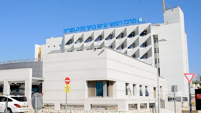 "Больница ""Пория"" в Тверии. Фото: Шарон Цур"