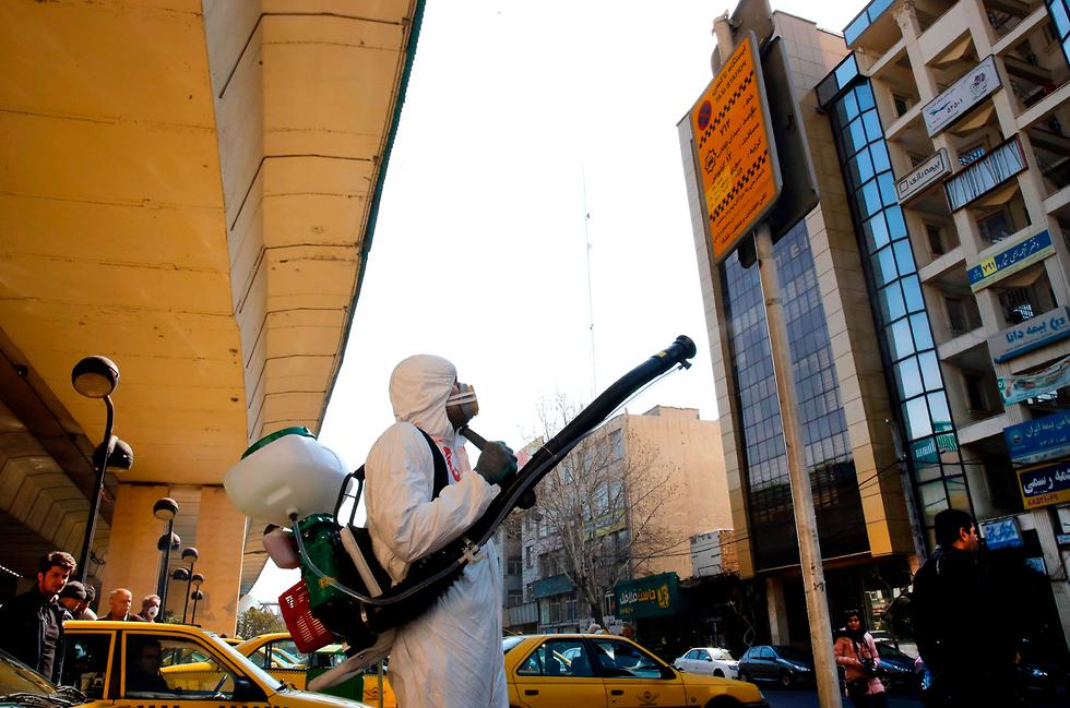 קורונה באיראן (צילום: AFP)