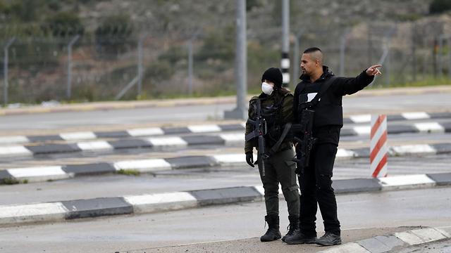 נגיף קורונה בבית לחם הרשות הפלסטינית (צילום: AFP)