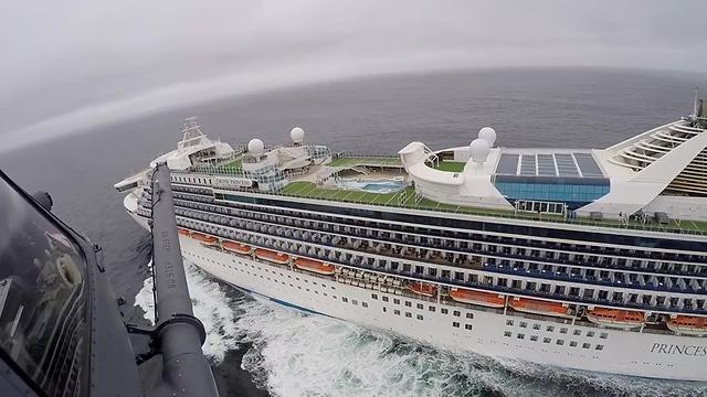 גראנד פרינסס גרנד פרינסס ספינת תענוגות ספינה ליד קליפורניה ארה