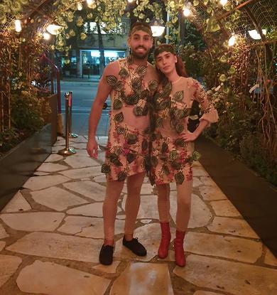 אייל גולסה ואישתו (צילום: פרטי)