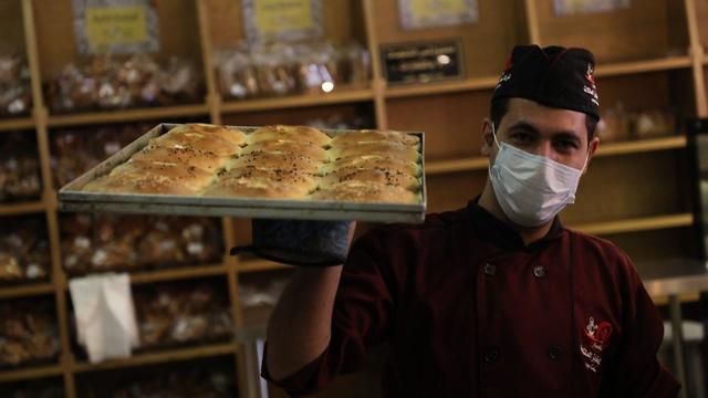 Пекарня в Газе. Фото: TPS