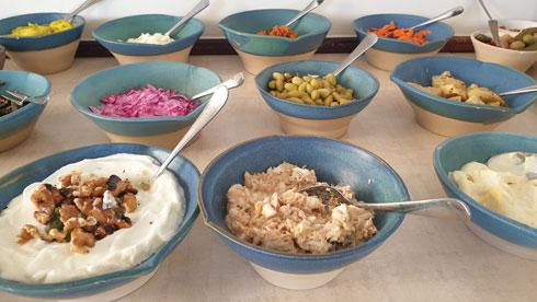 """מלא בריאות. ארוחת בוקר ב""""יהלים""""  (צילום: צביקה בורג)"""