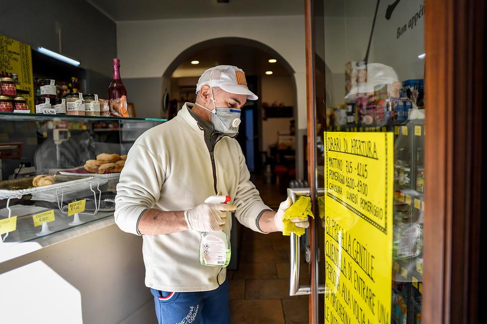 נגיף הקורונה באיטליה, קודוגנו  (צילום: AP)